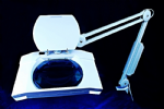 Magnifying Lamp Light 3 Magnfication. Daylight Bulb. Perfect for Beauty, Craft, Hobby, Dental etc. V5100
